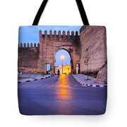 Walls Of Fes In Morocco Tote Bag