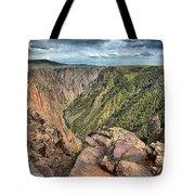 Walls Of The Black Canyon Tote Bag