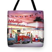 Wallys Service Station Tote Bag