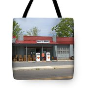 Wallys Service Station Mayberry Tote Bag