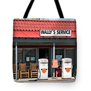 Wally's Service Station Mayberry Nc Tote Bag