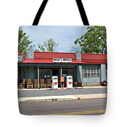 Wallys Service Station Mt. Airy Nc Tote Bag
