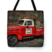 Wally's Towing Tote Bag by David Arment