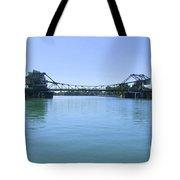 Walnut Grove Bascule Bridge Tote Bag
