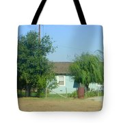 Walnut Grove - Typical Rural Farm House Tote Bag