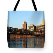 Walnut Street Bridge Harrisburg Pennsylvania Tote Bag
