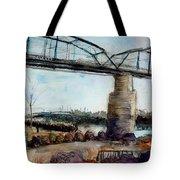 Walnut Street Bridge Tote Bag