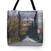 Walnut Street Bridge Looking At Harrisburg Tote Bag