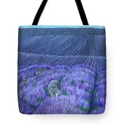 Walruses In A Field Of Lavender Tote Bag