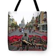 Walt Disney World Transportation 3 Panel Composite 02 Tote Bag