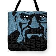 Walter White Heisenberg Breaking Bad Tote Bag