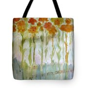 Waltz Of The Flowers Tote Bag