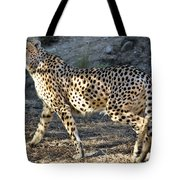 Wandering Cheetah Tote Bag