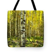 Wandering In The Woods  Tote Bag