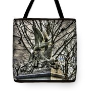War Eagles - 88th Pa Volunteer Infantry Cameron Light Guard-d1 Oak Hill Autumn Gettysburg Tote Bag by Michael Mazaika