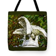 War Eagles - Vermont Company F 1st U. S. Sharpshooters Pitzer Woods Gettysburg Tote Bag