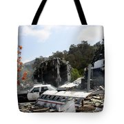 War Of The World's Tote Bag