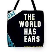 War Poster - Ww2 - Keep Mum Tote Bag