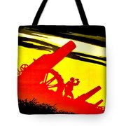 War Poster - Ww1 - Feed The Guns Tote Bag