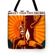 War Poster - Ww2 - Fire Safety Tote Bag