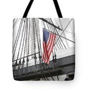 War Ship Tote Bag