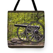 War Thunder - 5th United States Artillery Hazletts Battery - Little Round Top Gettysburg Spring Tote Bag
