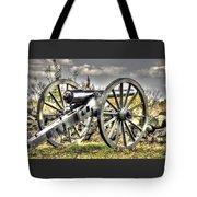 War Thunder - The Letcher Artillery Brander's Battery West Confederate Ave Gettysburg Tote Bag