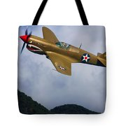 Warhawk Curtiss P-40  Tote Bag