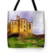Warkworth Castle Tote Bag