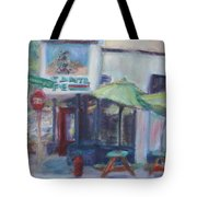 Warm Afternoon In The City  Tote Bag