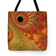 Warm And Earthy Tote Bag