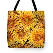 Warm And Sunny Yellows Golds And Oranges Tote Bag