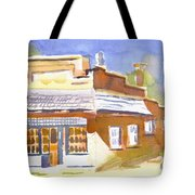 Warm Cast Shadows Tote Bag