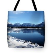 Warm December Tote Bag