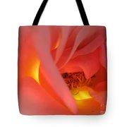 Warm Glow Pink Rose 2 Tote Bag