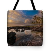 Warm Reflected Place Of Refuge Skies Tote Bag