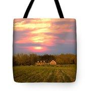 Warm Spring Sunset Tote Bag