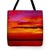 Warm Sunset Tote Bag