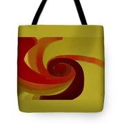 Warm Swirl Tote Bag