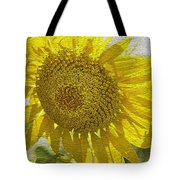 Warmth Upon My Back - Sunflower Tote Bag