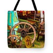 Warrenton Antique Days Wood Wheels And Wonders Tote Bag