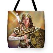 Warrior Bride Of Christ Tote Bag