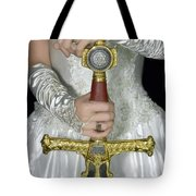 Warrior Bride Of Christ Tote Bag by Constance Woods