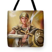 Warrior Bride Tote Bag