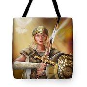 Warrior Bride Tote Bag