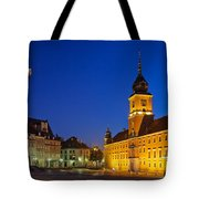 Warsaw By Night Tote Bag
