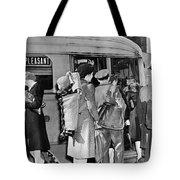 Wartime Modern Papoose Tote Bag