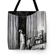 Warwick And The Executioner Tote Bag