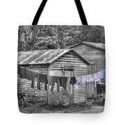 Washday Tote Bag by David Birchall