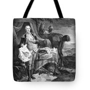 Washington At Yorktown Tote Bag
